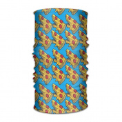 ZQQZ Shark Pizza Repeat Multifunctional Magic Headwear 12-in-1 Men & Women Tube Scarf Facemask Headbands Neck Gaiter Bandana Balaclava Helmet For Outdoor Running Yoga Work Out