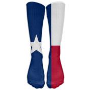 Texas Knee High Graduated Compression Socks For Women And Men - Best Medical, Nursing, Travel & Flight Socks - Running & Fitness