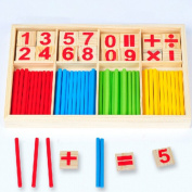 Education Toys Wooden Counting Sticks Toys Montessori Mathematical