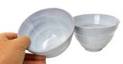 Spiceberry Home Stoneware Bowls, Light Blue, 13cm x 8.3cm , Set Of Two