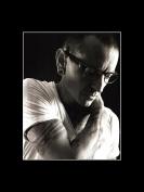 Linkin Park - Chester Bennington Black & White Portrait Mini Poster - 40.5x30.5cm