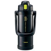 Zojirushi water bottle direct drink sports type stainless steel cool bottle 2.06L lime black SD-BB20-BG