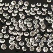2,000 pcs 4.5mm Diamond Table Confetti Acrylic Wedding Party Decor Crystals Vase Filler Clear