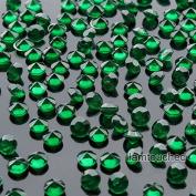 2,000 pcs 4.5mm Diamond Table Confetti Acrylic Wedding Party Decor Crystals Vase Filler Emerald Green