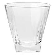 Barski European Glass - Square - Double Old Fashioned Tumbler - Uniquely Designed - Set of 6 - 350ml - Made in Europe