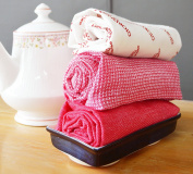 Kitchen Towels Dish Towel 3 Pack Set -100% Cotton Machine Washable Dish Towels