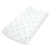 aden by aden + anais changing pad cover single, dream - stars