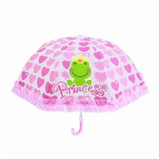46cm colourful kids umbrella design for boys and girls; 3D silk screen printing umbrella