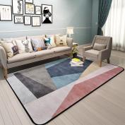 Hyun times Carpet Scandinavian geometric pattern living room simple modern bedroom full shop coffee table sofa home bedside mats