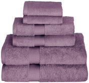 Daisy House Canyon Towel Set (2 bath, 2 hand & 2 wash), Mulberry