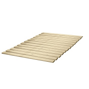 Classic Brands Solid Wood Bed Support Slats   Bunkie Board, Full