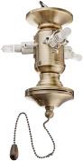 Fanimation F423AB 3-Light Bowl Fitter, Antique Brass