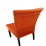 A.B Crew Stretch Chair Cover Pure Colour Short Dining Room Chair Cover For Daily Use