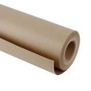 RUSPEPA Natural/Brown Kraft Paper Roll, 60cm x 50m