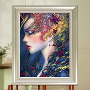 5D DIY Diamond Painting,NACOLA Rhinestone Pictures Of Crystals Embroidery Kits Arts Crafts & Sewing Cross Stitch-People Pattern