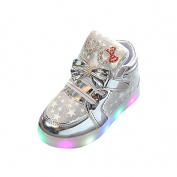 Colourful Light Shoes, Toddler Baby Fashion Sneakers Star Luminous Child Casual Colourful Light Shoes By Luversco