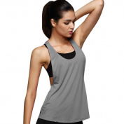 Womens Fitness Vest Racerback Tank Tops Workouts Running Gym Yoga Activewear Clothes