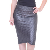 BCX Silver Skirt Size XS NWT - Movaz