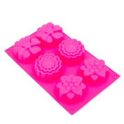THY COLLECTIBLES Soft Silicone Ice Cube Tray Ice Maker Mould Cake Mould Chocolate Mould
