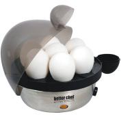 Better Chef Stainless Steel 7 Egg Cooker - Make Soft Medium Or Hard Boils