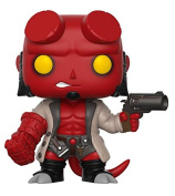 Funko Pop Hellboy with Jacket and No Horns Collectible Vinyl Figure