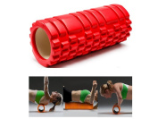 Yoga Foam Rollers Physical Therapy Trigger Point Hip Roller Grid Deep Tissue Textured Foam Roller for Massage Sports Medicine Equipment Alleviates Workout Pain Cellulite Lactic Acid by Ueasy