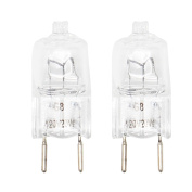 2-Pack Replacement Light Bulb for Kenmore / Sears 36363672200 Microwave - Compatible Kenmore / Sears WB25X10019 Light Bulb