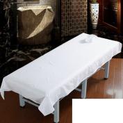 Massage table sheet,waterproof sheets,spa linens/ beauty bedspread/massage shop bed linen-A 115x210cm