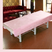 Amassage table sheet,waterproof sheets,spa linens,set of 2, salon sheets/hotel club beauty massage bed special sheets-B 120x200cm