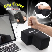 Big Enter Key Pillow with USB, Kemilove Office Stress Reliever Vent Noon Break Doll Toy