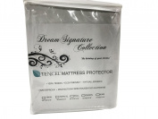 Dream Signature Collection Smooth Tencel Mattress Protector, Twin