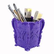 Tharv Makeup Brush Holder Lipstick Pen Cosmetic Organiser   Storage Box Container Sorting Box   10.5cm x7cm x8.5cm