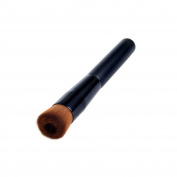 Honbay 1PCS Black Professional Face Liquid Foundation Concave Makeup Brush