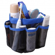 Gobuy Bathroom Hanging Mesh Storage Bag Toiletry Organiser Shower Caddy Quick Dry