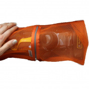 Coerni Premium Multi-use Quick Dry Foldable Mesh Shower Zipper Bag