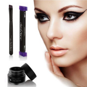 Ladygo Vamp Stamp Eyeliner Easy to Makeup Eye Wing Liners 3 In 1 Liquid Drawing Eyeliners Stamps 1 Second Make Up Tool-Size Medium