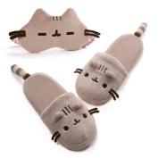 Gund, Pusheen Slippers and Pusheen Mask Travel Comfort Set