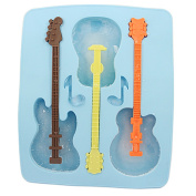HDE Guitar Ice Cube Tray with 3 Stirrers