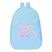 YiZYiF Kids Girls Embroidered Ballet Dance School Backpack Travel Shoulder Bag