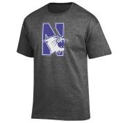 NCAA T Shirt Dark Heather Icon Touchdown