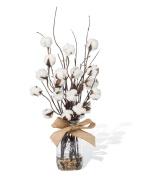 Cotton & Birch Faux Flower Accent