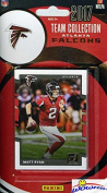 Atlanta Falcons 2017 Donruss NFL Football Factory Sealed Limited Edition 12 Card Complete Team Set with Matt Ryan, Julio Jones, Legend Deion Sanders & Many More! Shipped in Bubble Mailer! WOWZZER!