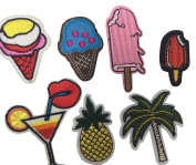 Misscrafts Iron on patches, 31 PCS Assorted Size Iron Embroidery Applique Decoration DIY Patch