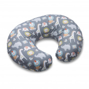 Boppy Nursing Pillow and Positioner, Sketch Slate Grey