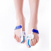 Bunion Corrector, 2pcs Adjustable Hook and loop Bunion Protector Pain Relief Kit, Toe Spacers Alignment Straightener Splint Treat Pain in Hallux Valgus, Tailors Bunion, Big Toe Joint, Hammer Toe