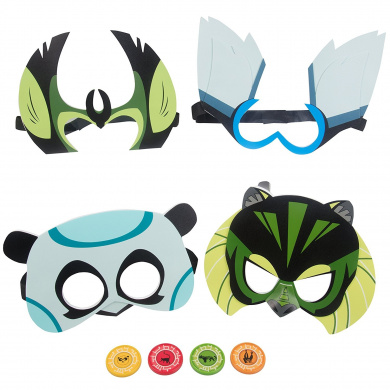 Wild Kratts Toys Deluxe Set Of 4 Creature Power Masks With