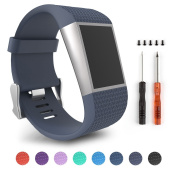 For Fitbit Surge,ToPoPo Replacement Strap Bands for Fitbit Surge Watch Fitness Tracker