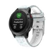 AutumnFall Garmin Fenix 5 GPS Watch Band Replacement Silicagel Quick Instal Soft Watch Strap 2#