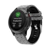 AutumnFall Garmin Fenix 5 GPS Watch Band Replacement Silicagel Quick Instal Soft Watch Strap