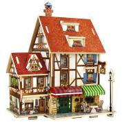 3D Wood Puzzle House